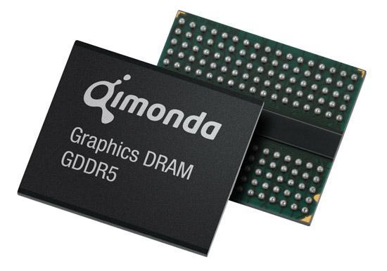 Qimonda ilk GDDR5 belleklerini HD 4800 serisi için AMD'ye veriyor