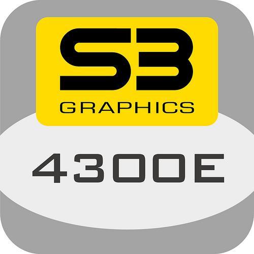 S3'den yeni bir grafik işlemci daha; 4300E