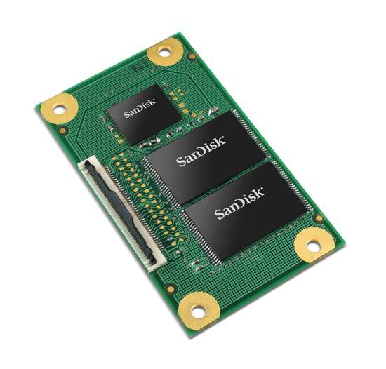 Computex 2008: SanDisk'ten maliyet odaklı sistemler için yeni SSD'ler