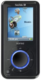 Sandisk'ten Sansa e200