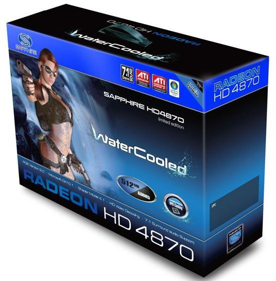 Sapphire'den su soğutmalı Radeon HD 4870 geliyor