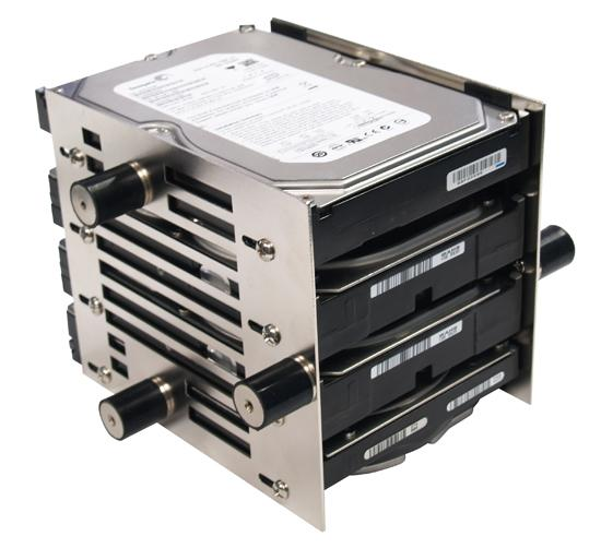 Scythe'den sabit disk kafesi; Stabilizer x4