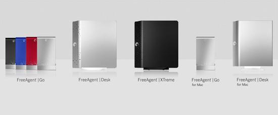Seagate FreeAgent serisi yeni harici disklerini duyurdu