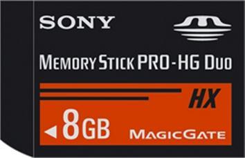 Sony Memory Stick PRO-HG Duo HX serisi bellek kartlarını duyurdu