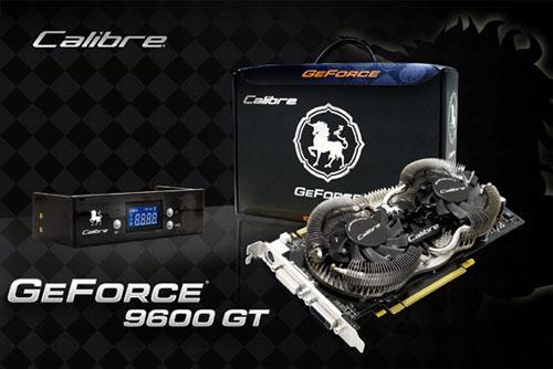 Sparkle'dan Calibre GeForce 9600GT GBOX ve 9600GTG GBOX