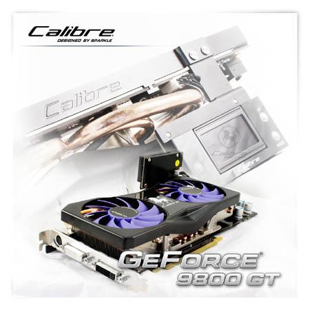 Sparkle GeForce 9800GT Calibre modelini duyurdu