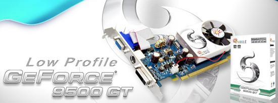 Sparkle'dan GeForce 9500GT tabanlı ve düşük profilli ekran kartları