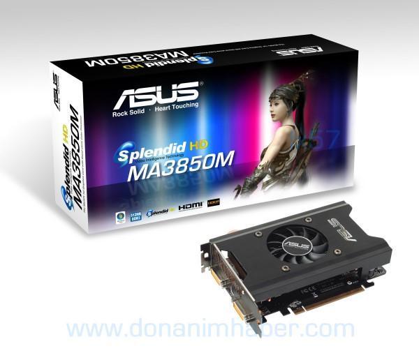 Asus HD 3850 ile oynamayı seviyor; Splendid HD işlemcili yeni ekran kartı yolda