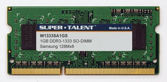 Super Talent'dan dizüstü bilgisayarlar için DDR3 SO-DIMM bellek