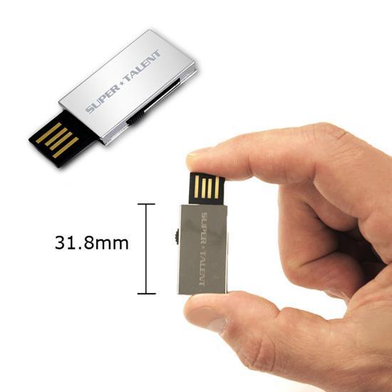 Super Talent'dan 8GB kapasiteli 3 yeni USB bellek