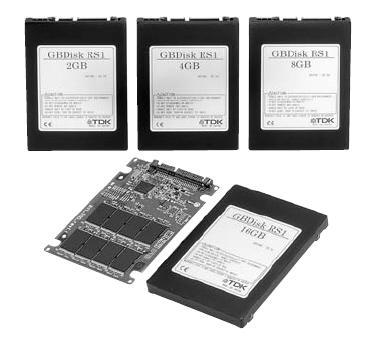 TDK GBDisk RS1 serisi yeni SSD'lerini duyurdu