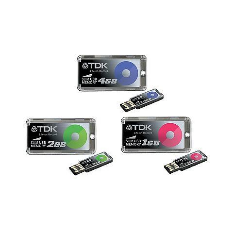 TDK'dan 3 gramlık ağırlığa sahip ince tasarımlı usb bellekler