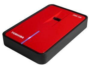 Toshiba'dan veri güvenliği ile dikkat çeken 200GB kapasiteli yeni taşınabilir disk