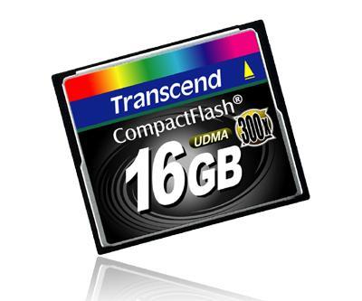 Transcend'den yüksek performanslı yeni CompactFlash kartlar