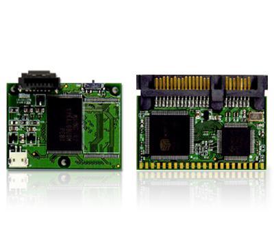 Transcend'den mini SATA flash modülleri