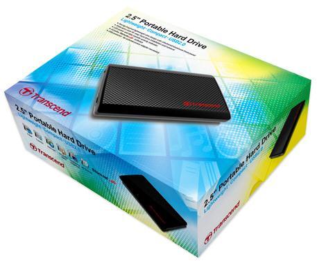 Transcend'den StoreJet serisi altında 250GB'lık yeni taşınabilir disk