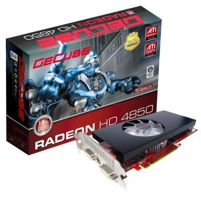 GeCube 1GB bellekli ve hız aşırtmalı HD 4850 OC modelini duyurdu