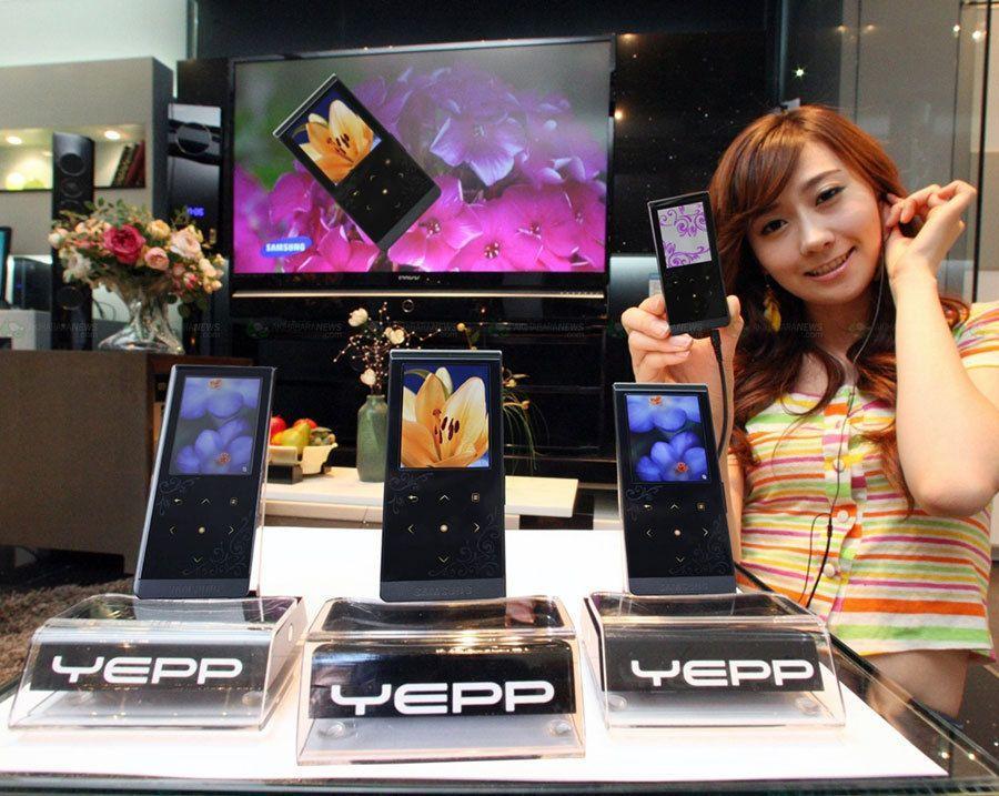 Samsung Yepp T10; Sanat akımının etkisindeki yeni medya oynatıcısı