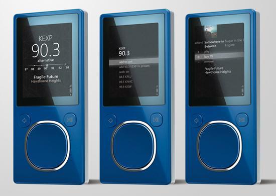 Microsoft Zune için 3.0 sürüm numaralı yazılım güncellemesi yayınlandı