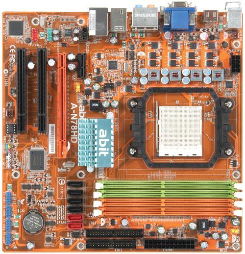 Abit'den GeForce 8200 yonga setli yeni anakart