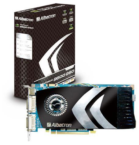 Albatron GeForce 9600GSO temelli yeni ekran kartını duyurdu
