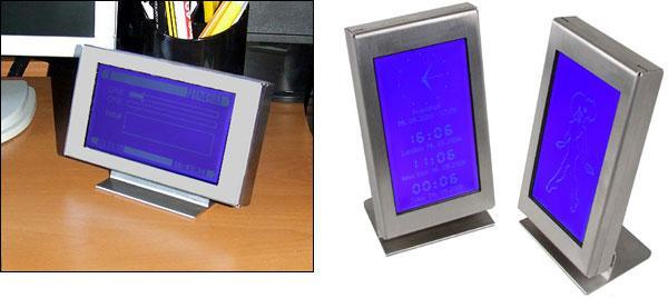 AlphaCool'dan kasa için ve harici yardımcı LCD ekranlar