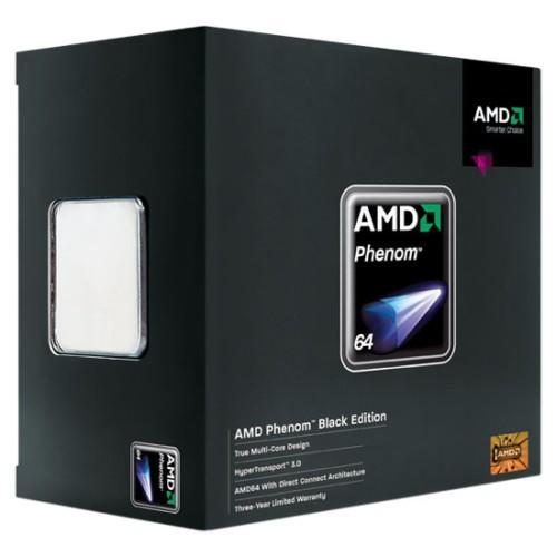 AMD'den yeni işlemciler; Phenom X4 9950 Black Edition, 9350e ve 9150e