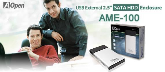 Aopen'den yeni sabit disk kutusu; AME 100