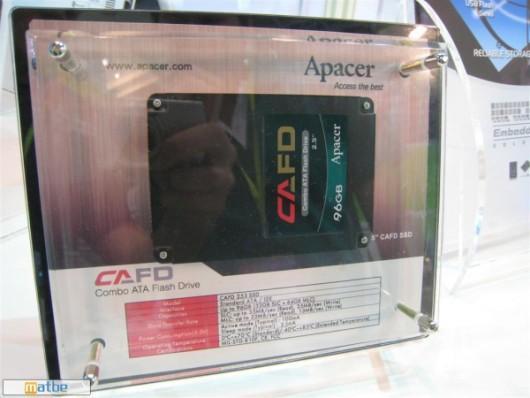 Katı halli diskler gelişiyor, Apacer'den melez (SLC+MLC NAND) SSD