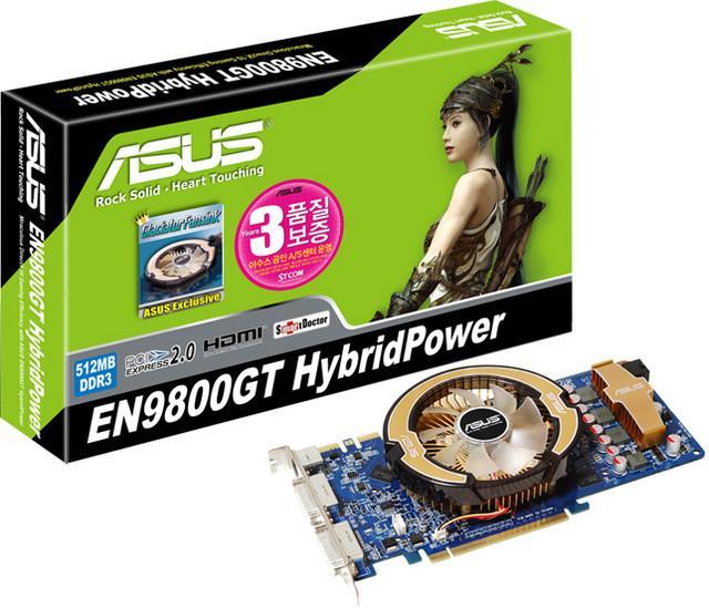Asus Triple SLI destekli GeForce 9800GT modelini hazırladı