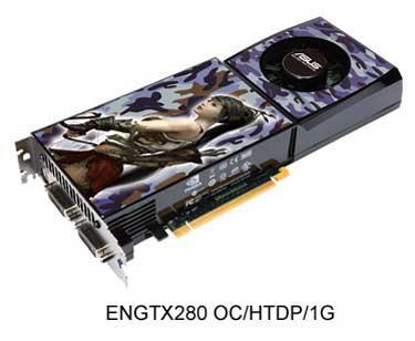 Asus'dan hız aşırtılmış GeForce GTX 280 OC geliyor
