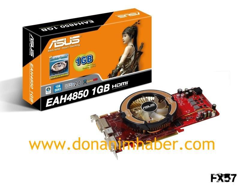 DH Özel: Asus'dan dünyanın ilk 1GB bellekli Radeon HD 4850 modeli