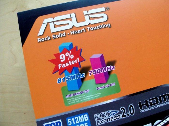 Asus'dan fabrika çıkışı hız aşırtmalı Radeon HD 4870 TOP