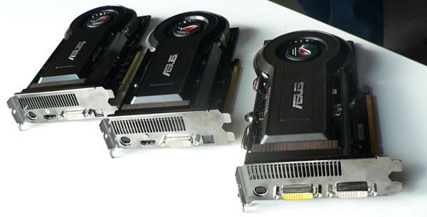 Asus'dan HD 4850 Matrix ve GeForce 9800GT Matrix geliyor