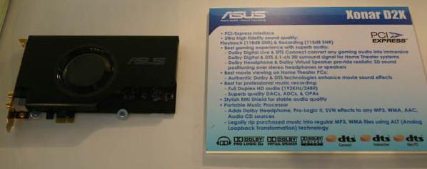 Asus'dan yeni ses kartları, EVGA iyice sulandı,  Commodore oyuncular için döndü...