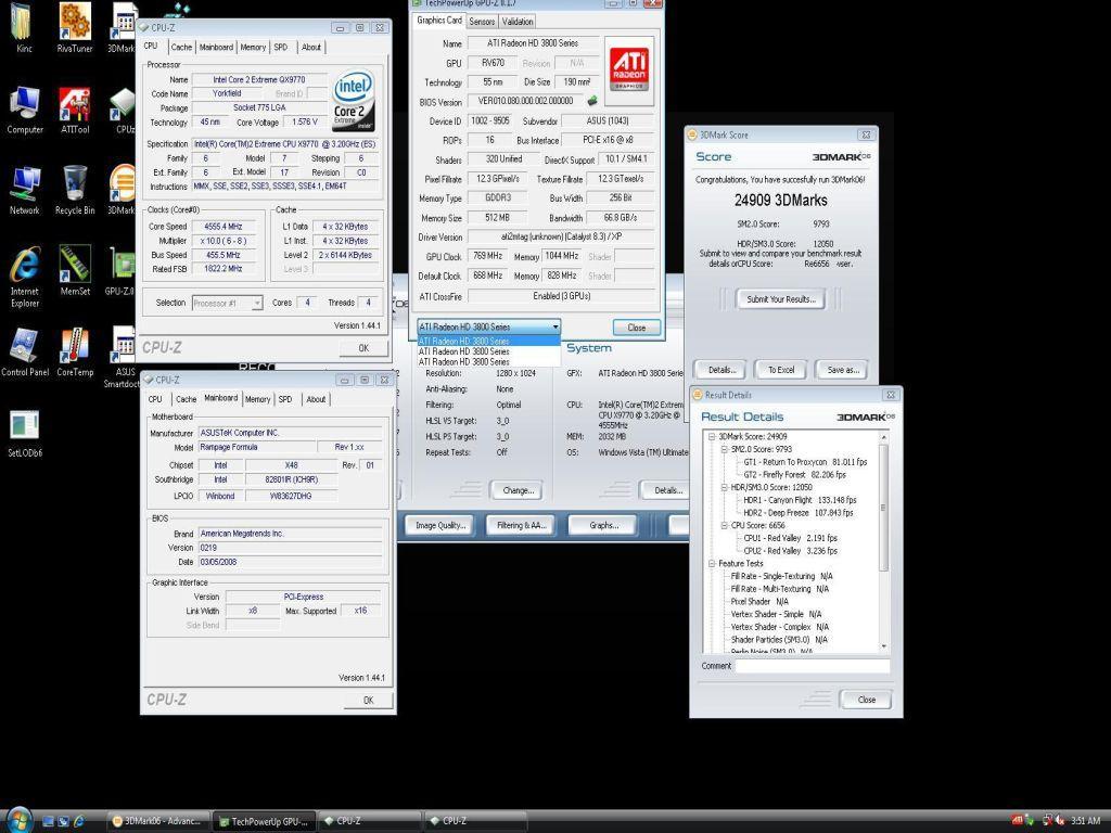 Asus Radeon HD 3850 Trinity'nin detayları ve ilk test sonuçları