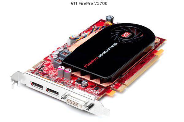 ATi FirePro serisi Yeni ekran kartları V5700 ve V3700'ü duyurdu