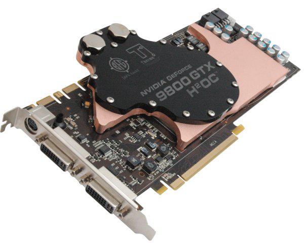 BFG'den su soğutmalı GeForce 9800 GTX H²OC