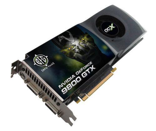 BFG'den fabrika çıkışı hız aşırtmalı üç yeni GeForce 9800GTX