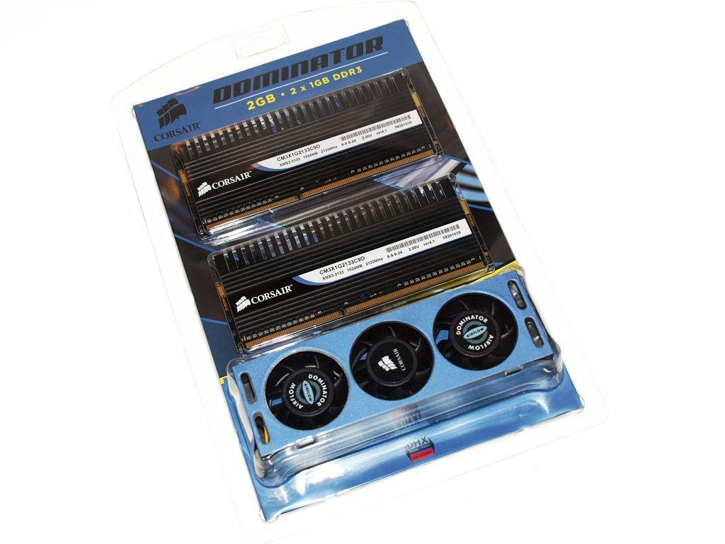 Corsair'in 2.13GHz'de çalışan DDR3 bellek kiti hazır