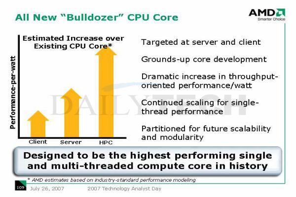 AMD'nin iddialı gelecek planları-2: Bulldozer, Fusion ve yeni nesil platformlar üzerine