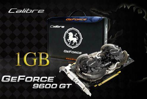 Sparkle'ın GeForce 9600GT Calibre modeli artık 1GB