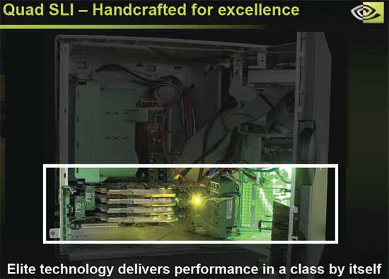 Nvidia'dan Quad SLI grafik kartları ; Gecube'den tek kartta Crossfire, 2 adet X1600 XT tek PCB'de
