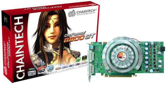 Chaintech'den özel soğutuculu yeni bir GeForce 8800GT