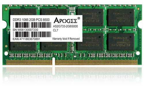 Chaintech'den Centrino 2 platformu için DDR3 1066MHz SO-DIMM