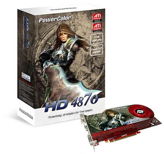 PowerColor'dan 1GB GDDR5 bellekli Radeon HD 4870