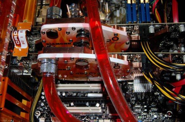 Diamond su soğutmalı Radeon HD 4800 H2O serisini kullanıma sunuyor