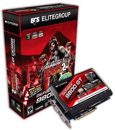 ECS pasif soğutmalı GeForce 9800GT modelini duyurdu