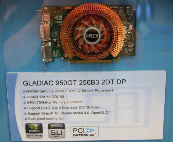 Computex 2008: ELSA GeForce 9500GT'nin üzerindeki örtüyü kaldırdı