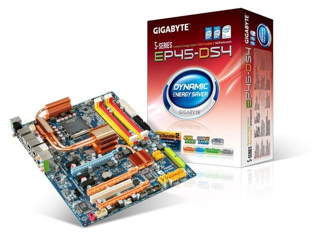 Gigabyte'dan P45 yonga setli EP45-DS4 geliyor